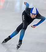Subject: Anna Bretschneider; Tags: Anna Bretschneider, Athlet, Athlete, Sportler, Wettkämpfer, Sportsman, Damen, Ladies, Frau, Mesdames, Female, Women, Daria Kamelkova, Eisschnelllauf, Speed skating, Schaatsen, GER, Germany, Deutschland, Sport; PhotoID: 2019-01-19-0233