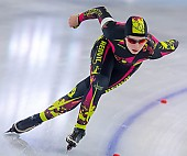 Subject: Katharina Pönisch; Tags: Athlet, Athlete, Sportler, Wettkämpfer, Sportsman, Damen, Ladies, Frau, Mesdames, Female, Women, Daria Kamelkova, Eisschnelllauf, Speed skating, Schaatsen, GER, Germany, Deutschland, Katharina Pönisch, Sport; PhotoID: 2019-01-19-0263