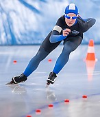 Subject: Sophie Warmuth; Tags: Sport, Sophie Warmuth, GER, Germany, Deutschland, Eisschnelllauf, Speed skating, Schaatsen, Daria Kamelkova, Damen, Ladies, Frau, Mesdames, Female, Women, Athlet, Athlete, Sportler, Wettkämpfer, Sportsman; PhotoID: 2019-02-02-0030