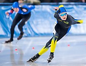 Subject: Max Meinig; Tags: Sport, Max Meinig, Herren, Men, Gentlemen, Mann, Männer, Gents, Sirs, Mister, GER, Germany, Deutschland, Eisschnelllauf, Speed skating, Schaatsen, Daria Kamelkova, Athlet, Athlete, Sportler, Wettkämpfer, Sportsman; PhotoID: 2019-02-02-0047