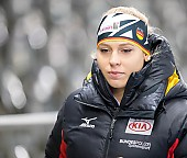 Subject: Victoria Stirnemann; Tags: Victoria Stirnemann, Sport, GER, Germany, Deutschland, Eisschnelllauf, Speed skating, Schaatsen, Daria Kamelkova, Damen, Ladies, Frau, Mesdames, Female, Women, Athlet, Athlete, Sportler, Wettkämpfer, Sportsman; PhotoID: 2019-02-02-0154