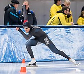 Subject: Fridtjof Petzold; Tags: Sport, Herren, Men, Gentlemen, Mann, Männer, Gents, Sirs, Mister, GER, Germany, Deutschland, Fridtjof Petzold, Eisschnelllauf, Speed skating, Schaatsen, Daria Kamelkova, Athlet, Athlete, Sportler, Wettkämpfer, Sportsman; PhotoID: 2019-02-02-0155