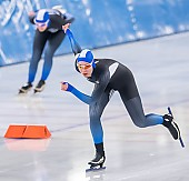 Subject: Franka Olejak-Matthes; Tags: Sport, GER, Germany, Deutschland, Franka Olejak-Matthes, Eisschnelllauf, Speed skating, Schaatsen, Daria Kamelkova, Damen, Ladies, Frau, Mesdames, Female, Women, Athlet, Athlete, Sportler, Wettkämpfer, Sportsman; PhotoID: 2019-02-02-0176
