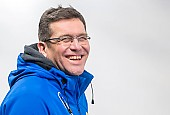 Subject: Markus Geppert; Tags: Trainer, Coach, Betreuer, Sport, Markus Geppert, GER, Germany, Deutschland, Eisschnelllauf, Speed skating, Schaatsen, Daria Kamelkova; PhotoID: 2019-02-02-0205