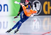 Subject: Johanna Letitia de Jong; Tags: Athlet, Athlete, Sportler, Wettkämpfer, Sportsman, Damen, Ladies, Frau, Mesdames, Female, Women, Eisschnelllauf, Speed skating, Schaatsen, Johanna Letitia de Jong, NED, Netherlands, Niederlande, Holland, Dutch, Sport; PhotoID: 2019-02-08-0014