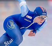 Subject: Hege Bøkko; Tags: Athlet, Athlete, Sportler, Wettkämpfer, Sportsman, Damen, Ladies, Frau, Mesdames, Female, Women, Eisschnelllauf, Speed skating, Schaatsen, Hege Bøkko, NOR, Norway, Norwegen, Sport; PhotoID: 2019-02-08-0075