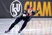 Subject: Jingzhu Jin; Tags: Athlet, Athlete, Sportler, Wettkämpfer, Sportsman, CHN, China, Volksrepublik China, Damen, Ladies, Frau, Mesdames, Female, Women, Eisschnelllauf, Speed skating, Schaatsen, Jingzhu Jin, Sport; PhotoID: 2019-02-08-0096