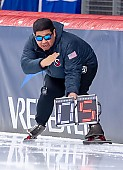 Subject: Ryan Shimabukuro; Tags: Eisschnelllauf, Speed skating, Schaatsen, Ryan Shimabukuro, Sport, Trainer, Coach, Betreuer, USA, United States, Vereinigte Staaten von Amerika; PhotoID: 2019-02-08-0133