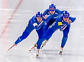 Subject: Francesca Bettrone, Francesca Lollobrigida, Noemi Bonazza; Tags: Athlet, Athlete, Sportler, Wettkämpfer, Sportsman, Damen, Ladies, Frau, Mesdames, Female, Women, Eisschnelllauf, Speed skating, Schaatsen, Francesca Bettrone, Francesca Lollobrigida, ITA, Italy, Italien, Noemi Bonazza, Sport; PhotoID: 2019-02-08-0279