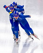 Subject: Francesca Bettrone, Francesca Lollobrigida, Noemi Bonazza; Tags: Athlet, Athlete, Sportler, Wettkämpfer, Sportsman, Damen, Ladies, Frau, Mesdames, Female, Women, Eisschnelllauf, Speed skating, Schaatsen, Francesca Bettrone, Francesca Lollobrigida, ITA, Italy, Italien, Noemi Bonazza, Sport; PhotoID: 2019-02-08-0285