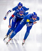 Subject: Francesca Bettrone, Francesca Lollobrigida, Noemi Bonazza; Tags: Athlet, Athlete, Sportler, Wettkämpfer, Sportsman, Damen, Ladies, Frau, Mesdames, Female, Women, Eisschnelllauf, Speed skating, Schaatsen, Francesca Bettrone, Francesca Lollobrigida, ITA, Italy, Italien, Noemi Bonazza, Sport; PhotoID: 2019-02-08-0286