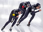 Subject: Carlijn Schoutens, Kimi Goetz, Mia Kilburg-Manganello; Tags: Athlet, Athlete, Sportler, Wettkämpfer, Sportsman, Carlijn Schoutens, Damen, Ladies, Frau, Mesdames, Female, Women, Eisschnelllauf, Speed skating, Schaatsen, Kimi Goetz, Mia Manganello, Sport, USA, United States, Vereinigte Staaten von Amerika; PhotoID: 2019-02-08-0312