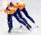 Subject: Antoinette de Jong, Ireen Wüst, Joy Beune; Tags: Antoinette de Jong, Athlet, Athlete, Sportler, Wettkämpfer, Sportsman, Damen, Ladies, Frau, Mesdames, Female, Women, Eisschnelllauf, Speed skating, Schaatsen, Ireen Wüst, Joy Beune, NED, Netherlands, Niederlande, Holland, Dutch, Sport; PhotoID: 2019-02-08-0335