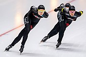 Subject: Isabelle Weidemann, Valerie Maltais; Tags: Athlet, Athlete, Sportler, Wettkämpfer, Sportsman, CAN, Canada, Kanada, Damen, Ladies, Frau, Mesdames, Female, Women, Eisschnelllauf, Speed skating, Schaatsen, Isabelle Weidemann, Sport, Valerie Maltais; PhotoID: 2019-02-08-0337