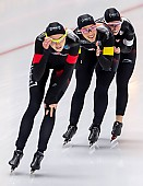 Subject: Isabelle Weidemann, Ivanie Blondin, Valerie Maltais; Tags: Athlet, Athlete, Sportler, Wettkämpfer, Sportsman, CAN, Canada, Kanada, Damen, Ladies, Frau, Mesdames, Female, Women, Eisschnelllauf, Speed skating, Schaatsen, Isabelle Weidemann, Ivanie Blondin, Sport, Valerie Maltais; PhotoID: 2019-02-08-0357