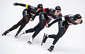 Subject: Antoine Gélinas-Beaulieu, Jordan Belchos, Ted-Jan Bloemen; Tags: Antoine Gélinas-Beaulieu, Athlet, Athlete, Sportler, Wettkämpfer, Sportsman, CAN, Canada, Kanada, Eisschnelllauf, Speed skating, Schaatsen, Herren, Men, Gentlemen, Mann, Männer, Gents, Sirs, Mister, Jordan Belchos, NED, Netherlands, Niederlande, Holland, Dutch, Sport, Ted-Jan Bloemen; PhotoID: 2019-02-08-0418