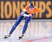 Subject: Carien Kleibeuker; Tags: Athlet, Athlete, Sportler, Wettkämpfer, Sportsman, Carien Kleibeuker, Damen, Ladies, Frau, Mesdames, Female, Women, Eisschnelllauf, Speed skating, Schaatsen, NED, Netherlands, Niederlande, Holland, Dutch, Sport; PhotoID: 2019-02-09-0041