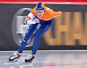 Subject: Carien Kleibeuker; Tags: Athlet, Athlete, Sportler, Wettkämpfer, Sportsman, Carien Kleibeuker, Damen, Ladies, Frau, Mesdames, Female, Women, Eisschnelllauf, Speed skating, Schaatsen, NED, Netherlands, Niederlande, Holland, Dutch, Sport; PhotoID: 2019-02-09-0044