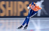 Subject: Esmee Visser; Tags: Athlet, Athlete, Sportler, Wettkämpfer, Sportsman, Damen, Ladies, Frau, Mesdames, Female, Women, Eisschnelllauf, Speed skating, Schaatsen, Esmee Visser, NED, Netherlands, Niederlande, Holland, Dutch, Sport; PhotoID: 2019-02-09-0089