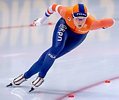Subject: Jutta Leerdam; Tags: Athlet, Athlete, Sportler, Wettkämpfer, Sportsman, Damen, Ladies, Frau, Mesdames, Female, Women, Eisschnelllauf, Speed skating, Schaatsen, Jutta Leerdam, NED, Netherlands, Niederlande, Holland, Dutch, Sport; PhotoID: 2019-02-09-0381