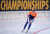 Subject: Jutta Leerdam; Tags: Athlet, Athlete, Sportler, Wettkämpfer, Sportsman, Damen, Ladies, Frau, Mesdames, Female, Women, Eisschnelllauf, Speed skating, Schaatsen, Jutta Leerdam, NED, Netherlands, Niederlande, Holland, Dutch, Sport; PhotoID: 2019-02-09-0387