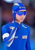 Subject: Noemi Bonazza; Tags: Athlet, Athlete, Sportler, Wettkämpfer, Sportsman, Damen, Ladies, Frau, Mesdames, Female, Women, Eisschnelllauf, Speed skating, Schaatsen, ITA, Italy, Italien, Noemi Bonazza, Sport; PhotoID: 2019-02-10-0017