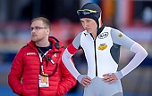 Subject: Gabriele Hirschbichler; Tags: Athlet, Athlete, Sportler, Wettkämpfer, Sportsman, Damen, Ladies, Frau, Mesdames, Female, Women, Eisschnelllauf, Speed skating, Schaatsen, GER, Germany, Deutschland, Gabriele Hirschbichler, Sport; PhotoID: 2019-02-10-0050