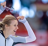 Subject: Roxanne Dufter; Tags: Athlet, Athlete, Sportler, Wettkämpfer, Sportsman, Damen, Ladies, Frau, Mesdames, Female, Women, Eisschnelllauf, Speed skating, Schaatsen, GER, Germany, Deutschland, Roxanne Dufter, Sport; PhotoID: 2019-02-10-0066