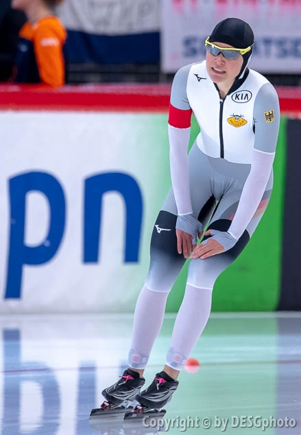 Gabriele Hirschbichler; Tags: Athlet, Athlete, Sportler, Wettkämpfer, Sportsman, Damen, Ladies, Frau, Mesdames, Female, Women, Eisschnelllauf, Speed skating, Schaatsen, GER, Germany, Deutschland, Gabriele Hirschbichler, Sport; PhotoID: 2019-02-10-0084
