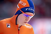 Subject: Ireen Wüst; Tags: Athlet, Athlete, Sportler, Wettkämpfer, Sportsman, Damen, Ladies, Frau, Mesdames, Female, Women, Eisschnelllauf, Speed skating, Schaatsen, Ireen Wüst, NED, Netherlands, Niederlande, Holland, Dutch, Sport; PhotoID: 2019-02-10-0169