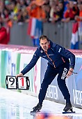 Motiv: Daria Kamelkova, Wouter olde Heuvel; Tags: Daria Kamelkova, Eisschnelllauf, Speed skating, Schaatsen, NED, Netherlands, Niederlande, Holland, Dutch, Sport, Trainer, Coach, Betreuer, Wouter Olde Heuvel; PhotoID: 2019-02-10-0185