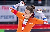 Subject: Ireen Wüst; Tags: Athlet, Athlete, Sportler, Wettkämpfer, Sportsman, Damen, Ladies, Frau, Mesdames, Female, Women, Eisschnelllauf, Speed skating, Schaatsen, Ireen Wüst, NED, Netherlands, Niederlande, Holland, Dutch, Sport; PhotoID: 2019-02-10-0187