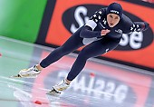 Subject: Brittany Bowe; Tags: Athlet, Athlete, Sportler, Wettkämpfer, Sportsman, Brittany Bowe, Damen, Ladies, Frau, Mesdames, Female, Women, Eisschnelllauf, Speed skating, Schaatsen, Sport, USA, United States, Vereinigte Staaten von Amerika; PhotoID: 2019-02-10-0218