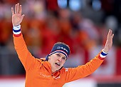Subject: Ireen Wüst; Tags: Athlet, Athlete, Sportler, Wettkämpfer, Sportsman, Damen, Ladies, Frau, Mesdames, Female, Women, Eisschnelllauf, Speed skating, Schaatsen, Ireen Wüst, NED, Netherlands, Niederlande, Holland, Dutch, Sport; PhotoID: 2019-02-10-0237