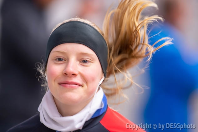 Lea-Sophie Scholz; Tags: Athlet, Athlete, Sportler, Wettkämpfer, Sportsman, Damen, Ladies, Frau, Mesdames, Female, Women, Eisschnelllauf, Speed skating, Schaatsen, GER, Germany, Deutschland, Lea-Sophie Scholz, Sport; PhotoID: 2019-11-08-0049