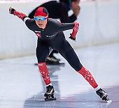 Subject: Severine Biermann; Tags: Athlet, Athlete, Sportler, Wettkämpfer, Sportsman, Damen, Ladies, Frau, Mesdames, Female, Women, Eisschnelllauf, Speed skating, Schaatsen, SUI, Bulgaria, Bulgarien, Severine Biermann, Sport; PhotoID: 2019-11-09-0370