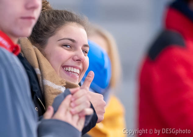 Julia Bachl; Tags: Athlet, Athlete, Sportler, Wettkämpfer, Sportsman, Damen, Ladies, Frau, Mesdames, Female, Women, Eisschnelllauf, Speed skating, Schaatsen, GER, Germany, Deutschland, Julia Bachl, Sport; PhotoID: 2019-11-09-0391