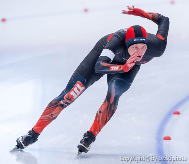 Dennis Lederer; Tags: Athlet, Athlete, Sportler, Wettkämpfer, Sportsman, Dennis Lederer, Eisschnelllauf, Speed skating, Schaatsen, GER, Germany, Deutschland, Herren, Men, Gentlemen, Mann, Männer, Gents, Sirs, Mister, Sport; PhotoID: 2019-11-09-1312