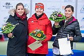 Subject: Bente Pflug, Gabriele Hirschbichler, Stephanie Beckert; Tags: Athlet, Athlete, Sportler, Wettkämpfer, Sportsman, Bente Pflug, Damen, Ladies, Frau, Mesdames, Female, Women, Eisschnelllauf, Speed skating, Schaatsen, GER, Germany, Deutschland, Gabriele Hirschbichler, Sport, Stephanie Beckert; PhotoID: 2019-11-09-1795