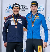 Subject: Felix Maly, Patrick Beckert; Tags: Athlet, Athlete, Sportler, Wettkämpfer, Sportsman, Eisschnelllauf, Speed skating, Schaatsen, Felix Maly, GER, Germany, Deutschland, Herren, Men, Gentlemen, Mann, Männer, Gents, Sirs, Mister, Patrick Beckert, Sport; PhotoID: 2019-11-09-1908