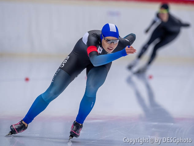 Victoria Stirnemann; Tags: Victoria Stirnemann, Sport, GER, Germany, Deutschland, Eisschnelllauf, Speed skating, Schaatsen, Damen, Ladies, Frau, Mesdames, Female, Women, Athlet, Athlete, Sportler, Wettkämpfer, Sportsman; PhotoID: 2019-11-10-0030