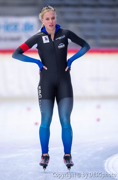 Victoria Stirnemann; Tags: Victoria Stirnemann, Sport, GER, Germany, Deutschland, Eisschnelllauf, Speed skating, Schaatsen, Damen, Ladies, Frau, Mesdames, Female, Women, Athlet, Athlete, Sportler, Wettkämpfer, Sportsman; PhotoID: 2019-11-10-0039