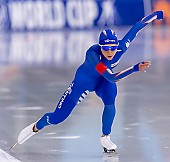 Subject: Noemi Bonazza; Tags: Athlet, Athlete, Sportler, Wettkämpfer, Sportsman, Damen, Ladies, Frau, Mesdames, Female, Women, Eisschnelllauf, Speed skating, Schaatsen, ITA, Italy, Italien, Noemi Bonazza, Sport; PhotoID: 2019-11-16-0599