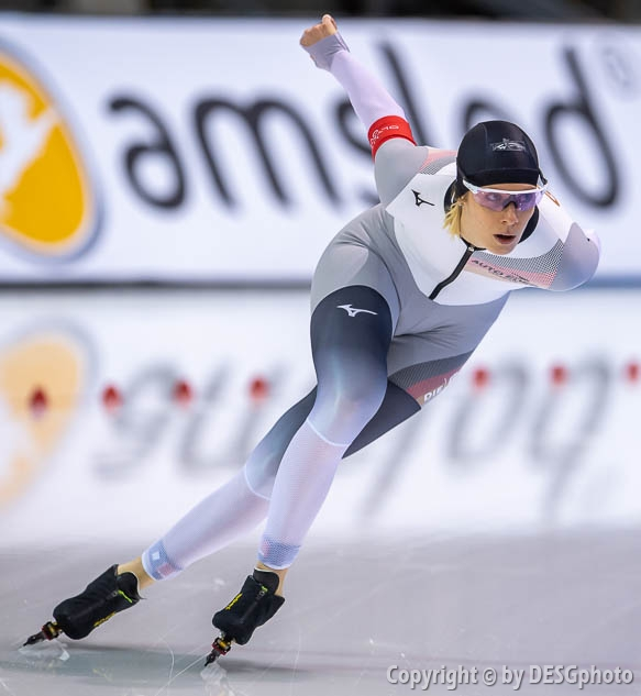 Roxanne Dufter; Tags: Damen, Ladies, Frau, Mesdames, Female, Women, Athlet, Athlete, Sportler, Wettkämpfer, Sportsman, Sport, Roxanne Dufter, GER, Germany, Deutschland, Eisschnelllauf, Speed skating, Schaatsen; PhotoID: 2020-02-13-0023
