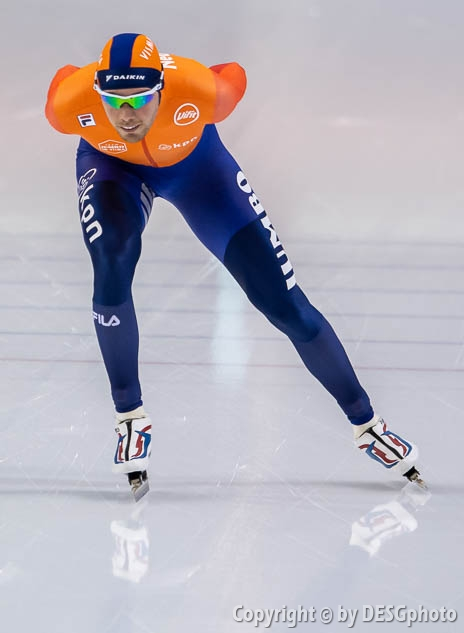 Patrick Roest; Tags: Athlet, Athlete, Sportler, Wettkämpfer, Sportsman, Eisschnelllauf, Speed skating, Schaatsen, Herren, Men, Gentlemen, Mann, Männer, Gents, Sirs, Mister, NED, Netherlands, Niederlande, Holland, Dutch, Patrick Roest, Sport; PhotoID: 2020-02-13-0210