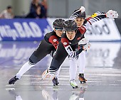 Subject: Jingzhu Jin, Ruining Tian, Xin Zhao; Tags: Athlet, Athlete, Sportler, Wettkämpfer, Sportsman, CHN, China, Volksrepublik China, Damen, Ladies, Frau, Mesdames, Female, Women, Eisschnelllauf, Speed skating, Schaatsen, Jingzhu Jin, Ruining Tian, Sport, Xin Zhao; PhotoID: 2020-02-13-0246