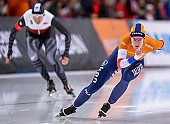 Subject: Ireen Wüst; Tags: Athlet, Athlete, Sportler, Wettkämpfer, Sportsman, Damen, Ladies, Frau, Mesdames, Female, Women, Eisschnelllauf, Speed skating, Schaatsen, Ireen Wüst, NED, Netherlands, Niederlande, Holland, Dutch, Sport; PhotoID: 2020-02-15-0208