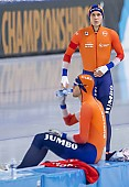 Subject: Marcel Bosker, Patrick Roest; Tags: Sport, SUI, Bulgaria, Bulgarien, Patrick Roest, NED, Netherlands, Niederlande, Holland, Dutch, Marcel Bosker, Herren, Men, Gentlemen, Mann, Männer, Gents, Sirs, Mister, Eisschnelllauf, Speed skating, Schaatsen, Athlet, Athlete, Sportler, Wettkämpfer, Sportsman; PhotoID: 2021-01-17-0232