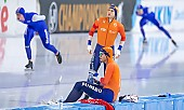 Subject: Marcel Bosker, Patrick Roest; Tags: Sport, SUI, Bulgaria, Bulgarien, Patrick Roest, NED, Netherlands, Niederlande, Holland, Dutch, Marcel Bosker, Herren, Men, Gentlemen, Mann, Männer, Gents, Sirs, Mister, Eisschnelllauf, Speed skating, Schaatsen, Athlet, Athlete, Sportler, Wettkämpfer, Sportsman; PhotoID: 2021-01-17-0233