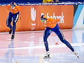 Subject: Marcel Bosker, Patrick Roest; Tags: Sport, SUI, Bulgaria, Bulgarien, Patrick Roest, NED, Netherlands, Niederlande, Holland, Dutch, Marcel Bosker, Herren, Men, Gentlemen, Mann, Männer, Gents, Sirs, Mister, Eisschnelllauf, Speed skating, Schaatsen, Athlet, Athlete, Sportler, Wettkämpfer, Sportsman; PhotoID: 2021-01-17-0235